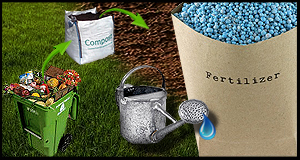 Fertilizer, Water and Compost